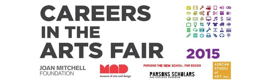 Careers in the Arts Fair 2015