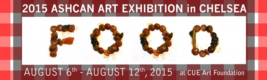 2015 ASHCAN ART EXHIBITION-FOOD