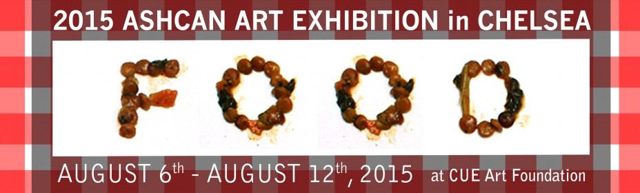 2015 ASHCAN ART EXHIBITION-FOOD