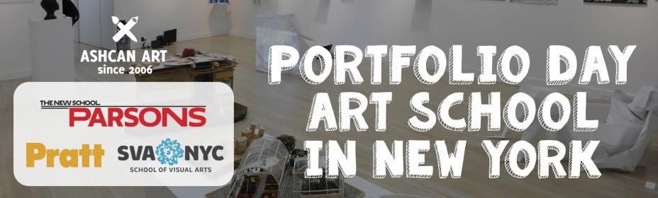 2015 Portfolio Day in Ashcan Art – PARSONS, PRATT, SVA