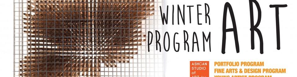 2016 Winter ART Program-Start in January!