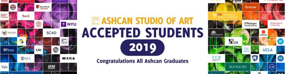 Congratulations All Ashcan Graduates 2019!
